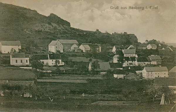 Basberg im Jahre 1912