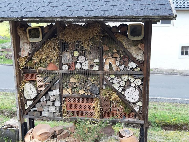 🦗 Die Basberger Halunken waren fleißig für unsere Natur. Gemeinsam haben sie unser Insektenhotel…