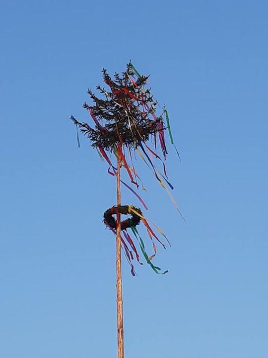 Der Mai kann Basberger haben gemeinsam den diesjährigen Baum geschmückt und buntes Treiben im…