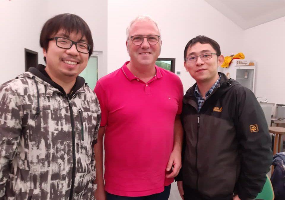 Besonderer Besuch in Basberg😊 Hr. Li und Hr. Hua, Korrespondenten der People's Daily…